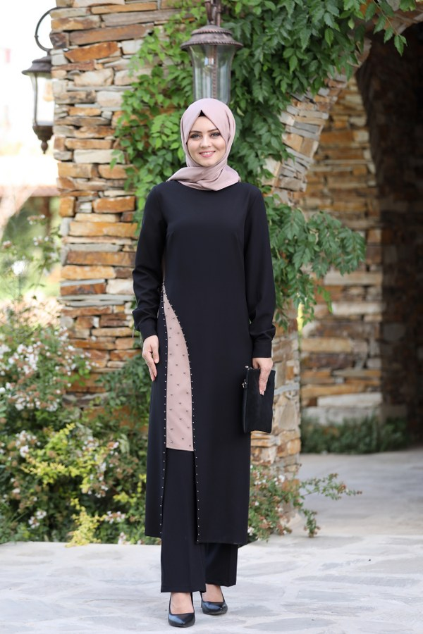 Ahunisa- Efser Suit-Black