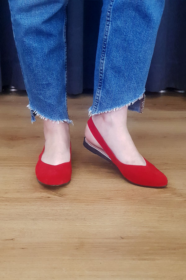 Lady Shoe - Red