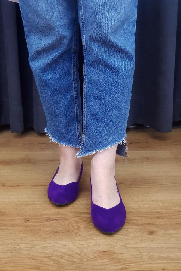 Lady Shoe - Purple