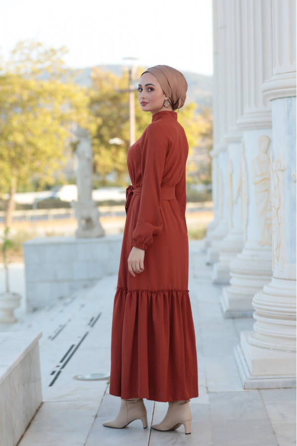 Arya dress Kiremit