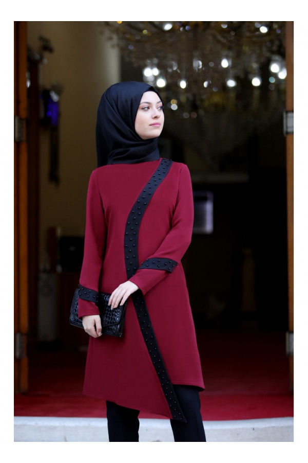 Semra Aydin Suit- bordo