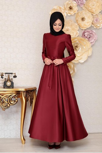 Akasya Dress - Red
