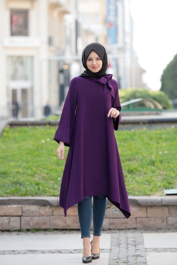 Feza Tunic Purple
