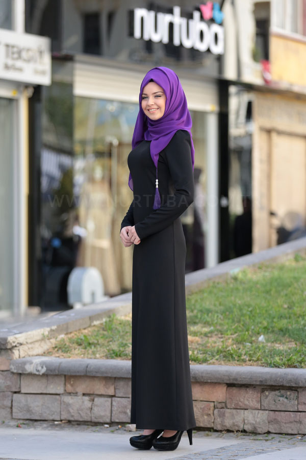Defne Dress Black