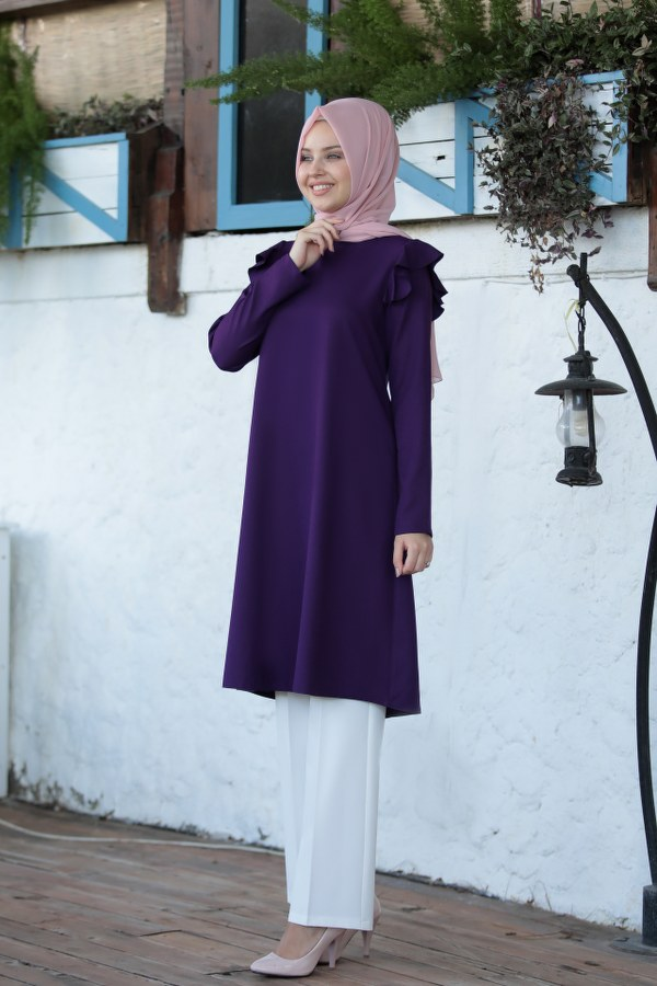 Asil Tunic Purple