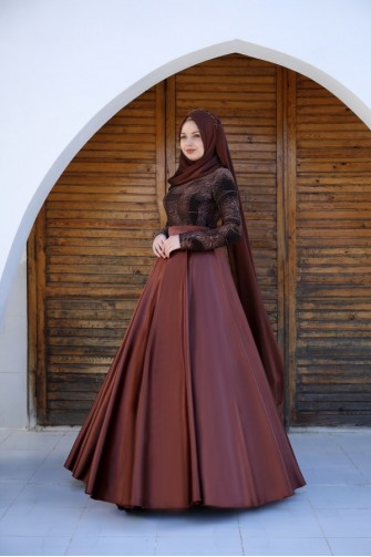 Alicia Dress - Copper